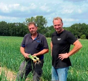 Gert Gerrits and Geert Jilissen sow union