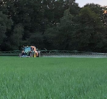 Spraying sow unions