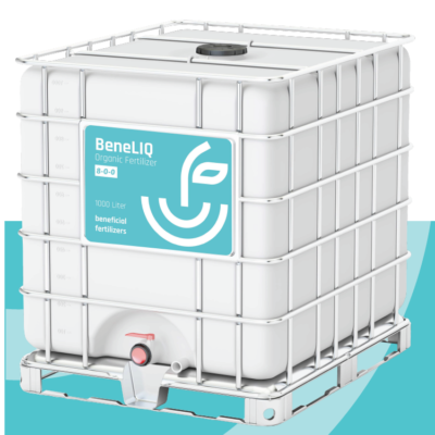 BeneLIQ 8-0-0 is a liquid organic fertilizer composed of 100% natural products that can help the plant to have more yield and a better quality of vegetables, fruits and flowers.