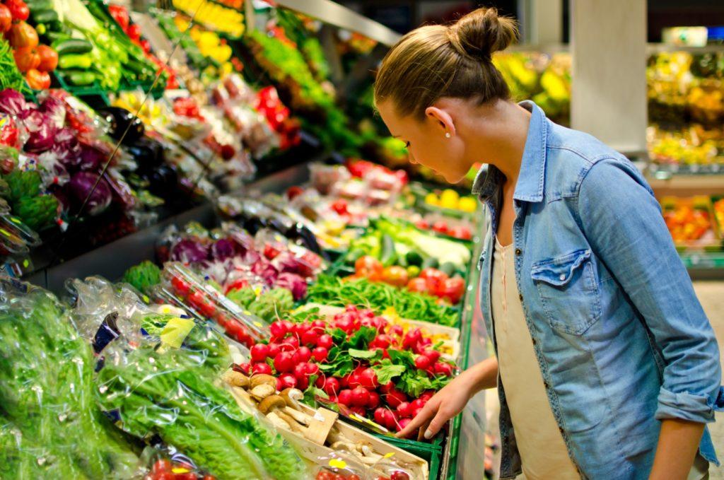 Organic bio supermarket